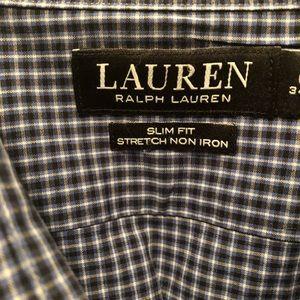 Lauren, Ralph Lauren, Slim Fit, Size 16 1/2-34/35